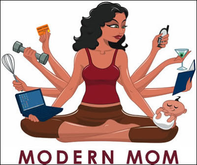 Busy Mom, mompreneur