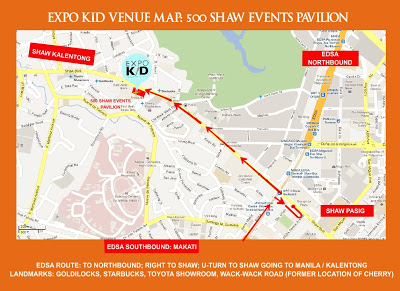 500 Shaw Events Pavillion Map