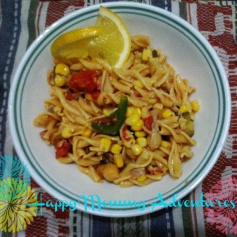10-Minute Mediterranean Pasta Recipe